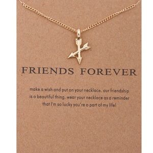 Jewelry - 4 for $25⚡️Dainty boho friend crossed arrow chain